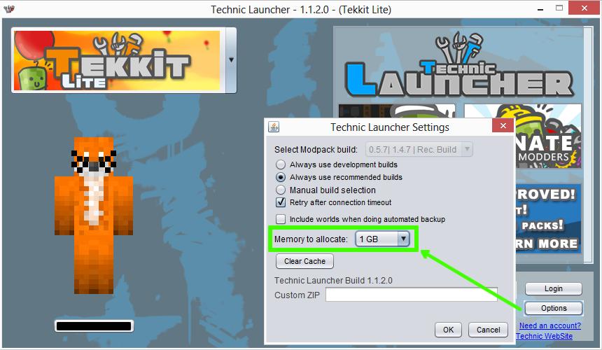Tutorial: Giving Minecraft more RAM | BDcraft