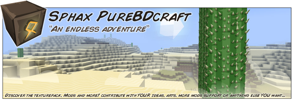 Sphax BDcraft website